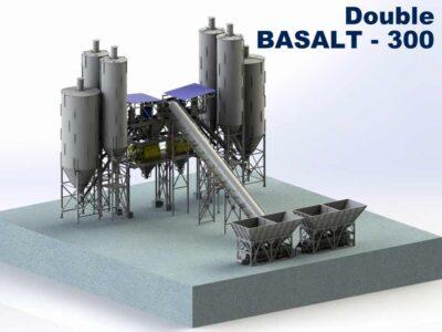 Бетонный узел с конвейером Двойной Базальт