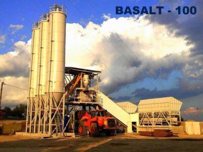 Мобильный бетонный завод Базальт-100