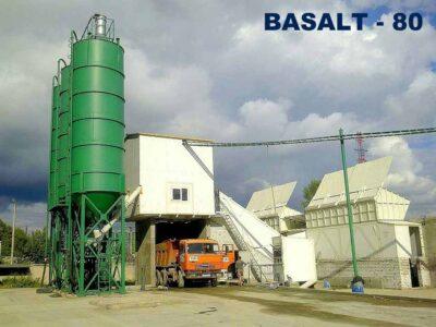 Бетоносмесительная установка Базальт-80