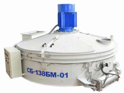 Бетоносмеситель роторный СБ-138БМ на 1000 л