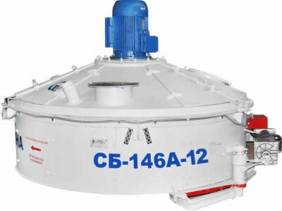 Бетоносмеситель роторный СБ-146А-12