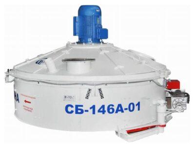 Бетоносмеситель роторный СБ-146А-01