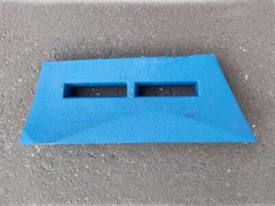 Лопасть бетоносмесителя чугунная сб-138б.63.007ч вид2
