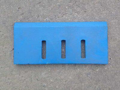Скребок СБ-138Б.63.009 чугунный для бетоносмесителя
