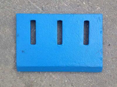 Скребок СБ-138Б.63.011А чугунный для бетоносмесителя