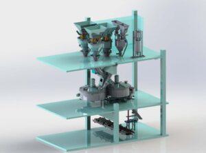 Модернизация бетонных заводов вертикального типа