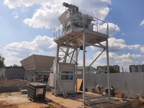 бетонный завод гранит-60 серпухов